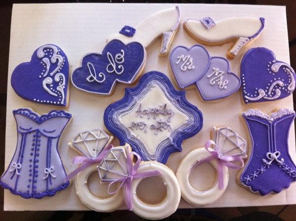bridal shower cookie